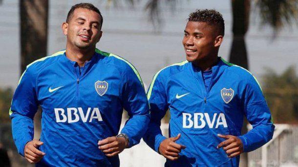 Edwin Cardona y Wilmar Barrios<br>