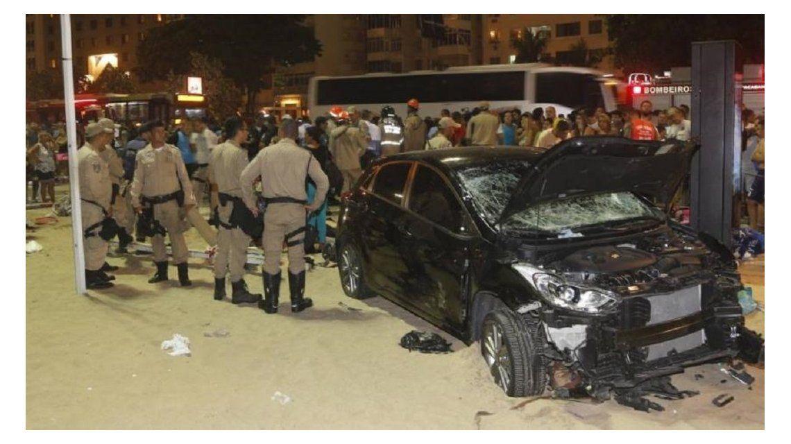 Tragedia en Copacabana