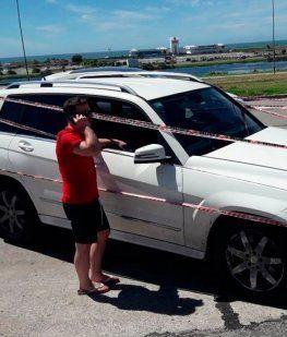 Piloto de TC se atrincheró en el auto para no hacer el control de alcoholemia