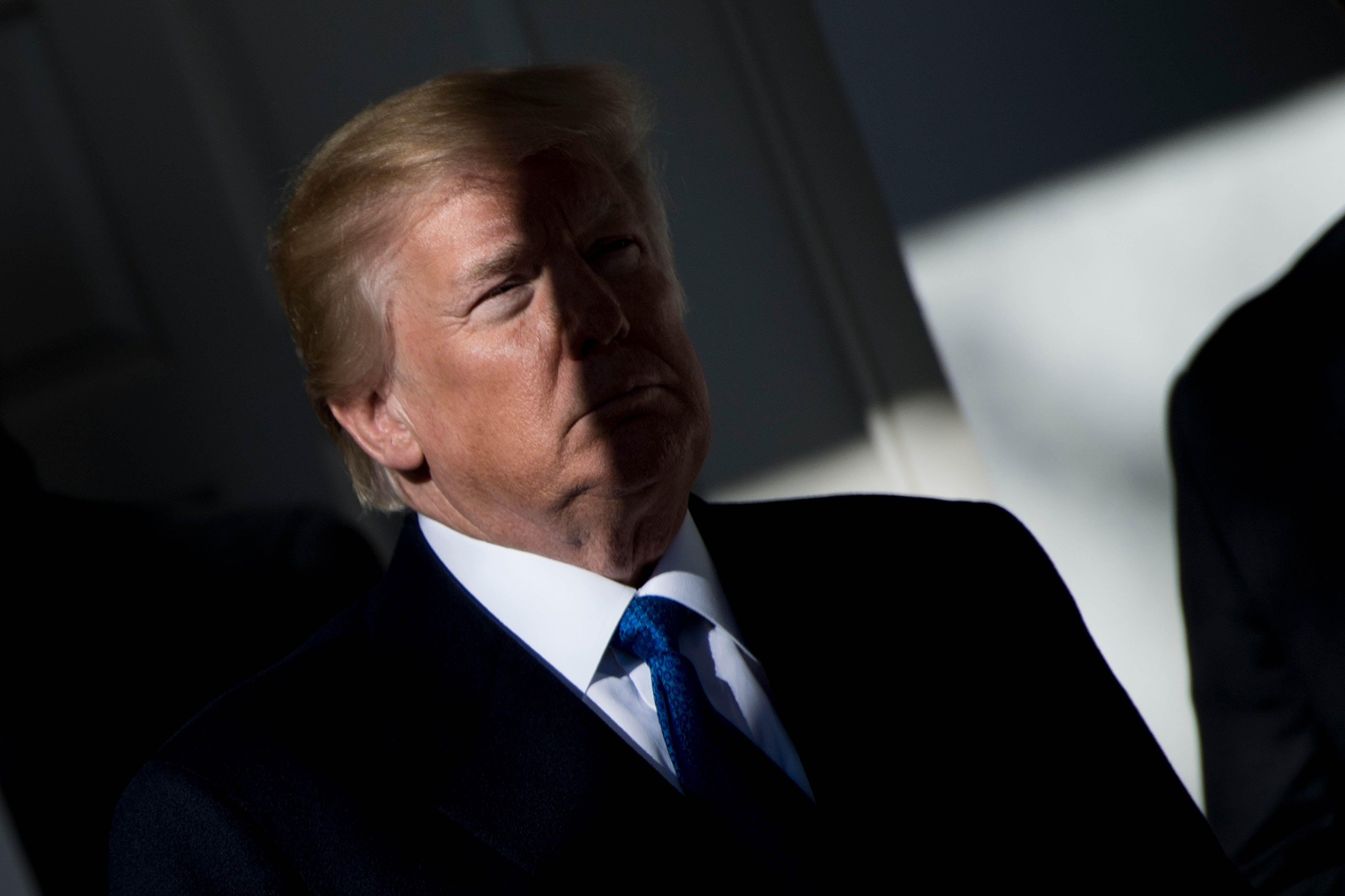 Trump felicitó a las Fuerzas Armadas estadounidenses por el ataque en Siria