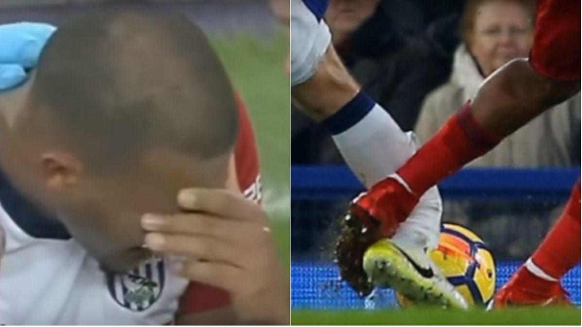 Rondón fracturó a James McCarthy y se puso a llorar