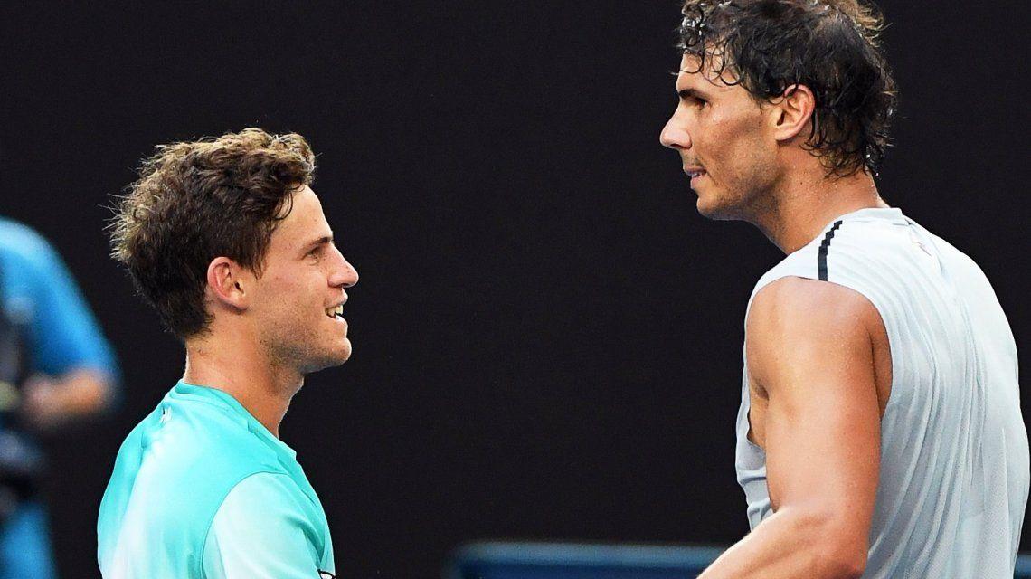 Abierto de Australia: Diego Schwartzman cayó ante Rafael Nadal