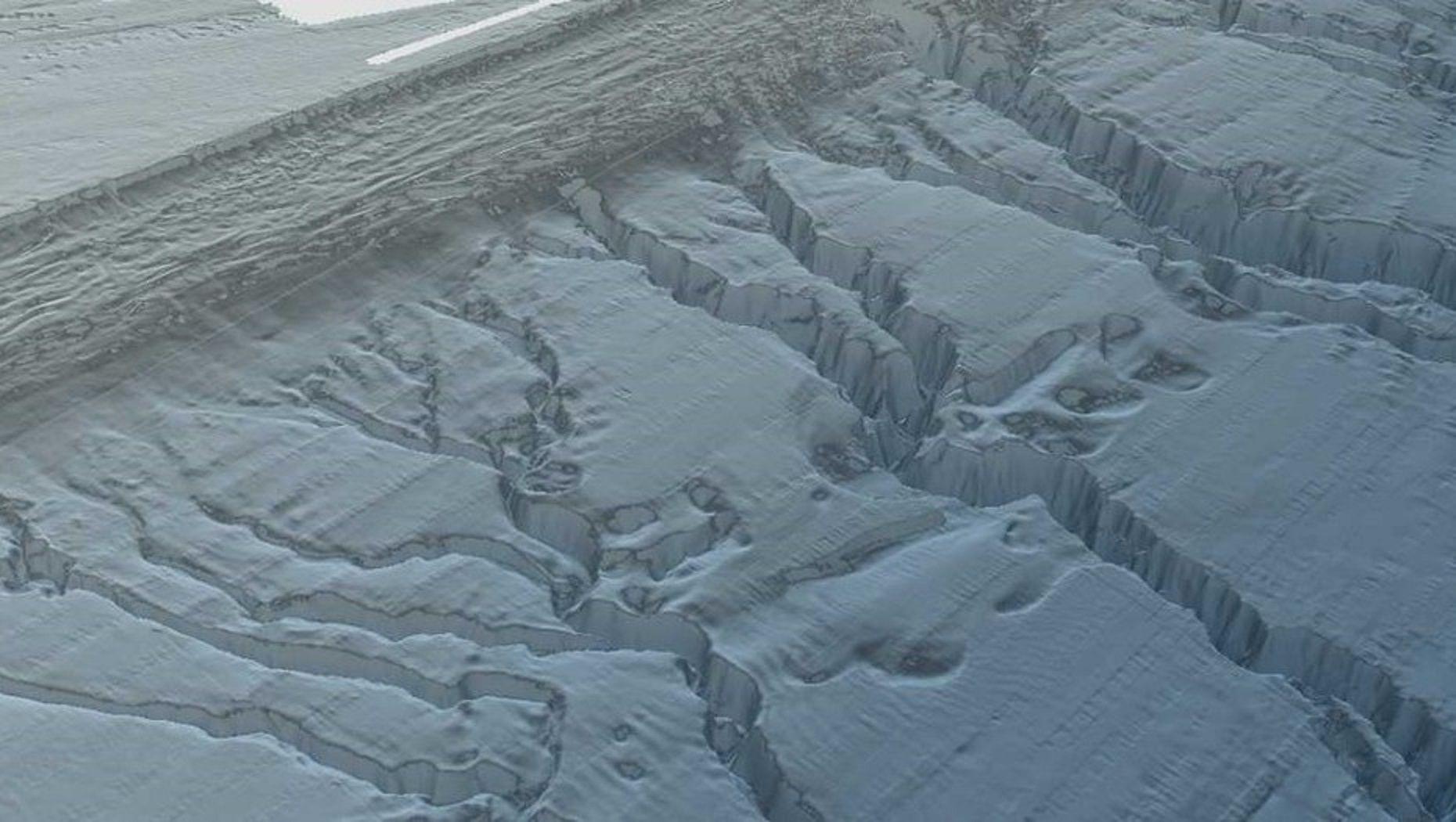 Los cañadones del talud continental donde se buscará al San Juan tienen hasta mil metros de profundidad.