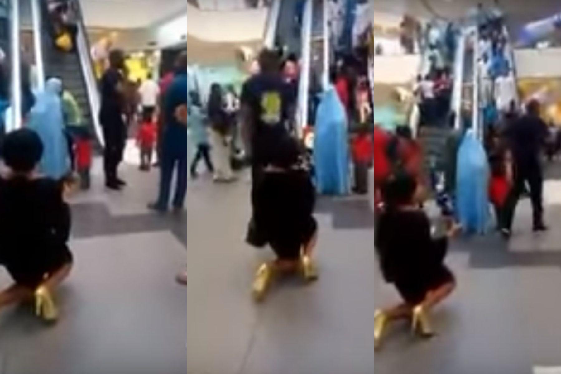 VIDEO: Se arrodilló, le pidió casamiento a su novio y él la rechazó adelante de todos