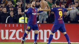 Messi y Suárez, amigos y compañeros en Barcelona