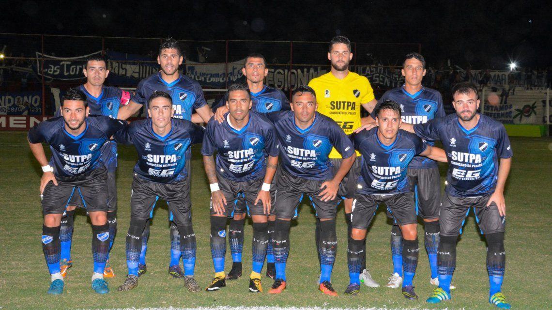 La última formación de Alvarado de Mar del Plata ante Rivadavia de Lincoln por Copa Argentina