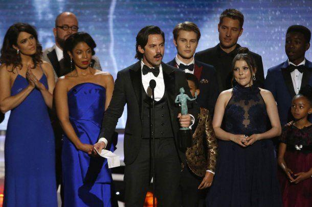 This Is Us fue elegida como la serie de TV con mejor elenco<br>