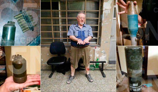 José María Scrocchi, detenido por balear a vecino en un hipermercado de Quilmes, tenía un arsenal