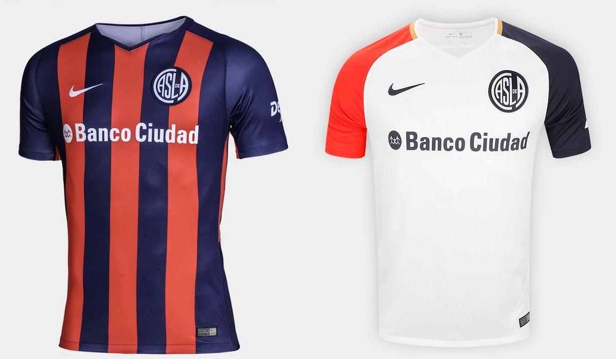 San Lorenzo presentó su nueva camiseta en medio del Superclásico: la furia de los hinchas