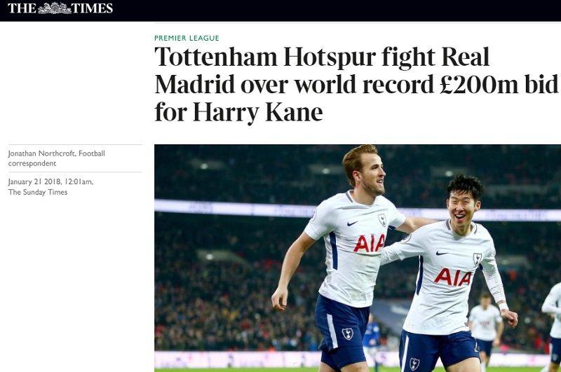 Real Madrid prepara la mejor oferta de la historia para quedarse con Harry Kane