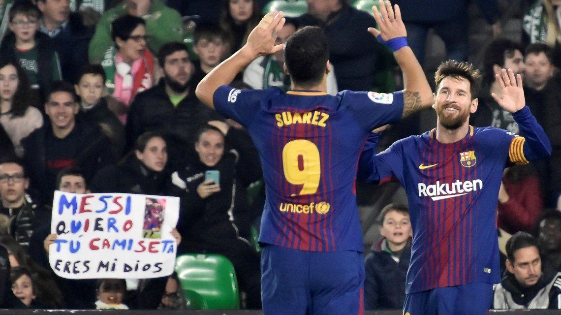 ¿Y Messi? Luis Suárez quebró un nuevo récord con la camiseta del Barcelona
