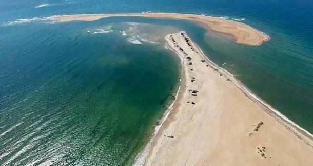 <p>Las fuertes corrientes entre la isla y la costa representan un peligro para las personas</p>