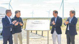 Inauguración Parque Eólico Rawson.
