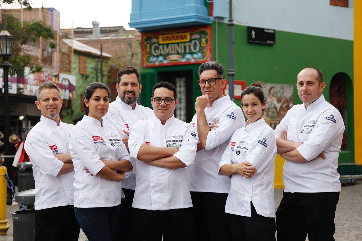 Ellos son los representantes argentinos en el Mundial del Helado