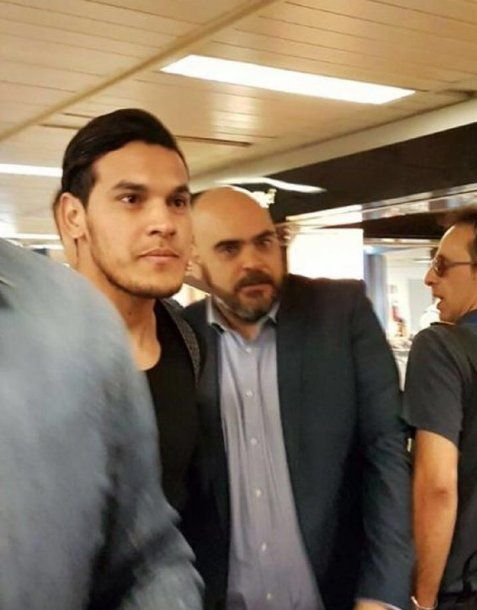 Gustavo Gómez y Augusto Paraja