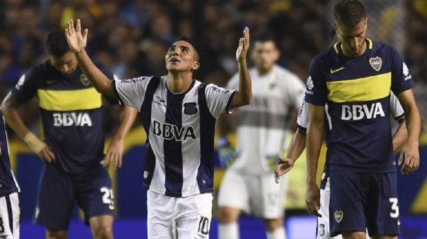 Bebelo Reynoso contra Boca<br>