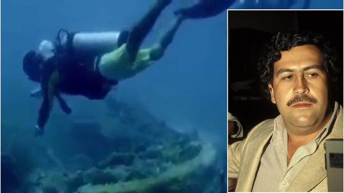Ex espías hallaron el submarino que usaba Pablo Escobar para contrabandear cocaína