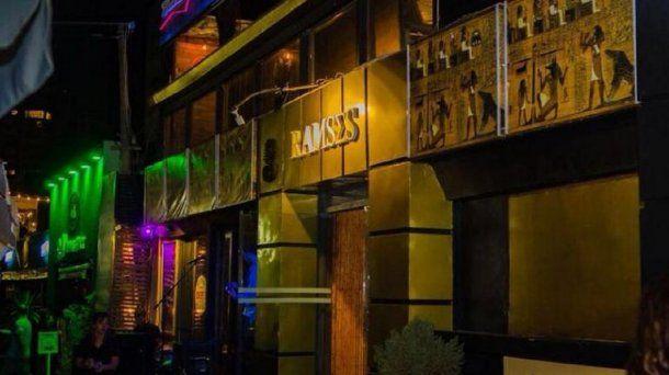 <div>Boliche Ramsés, el lugar del violento episodio. (Facebook del local)</div>