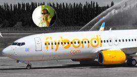 Disculpas por el corto vuelito: el anuncio del piloto por la falla de FlyBondi
