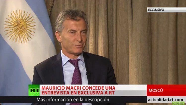 Mauricio Macri en Rusia