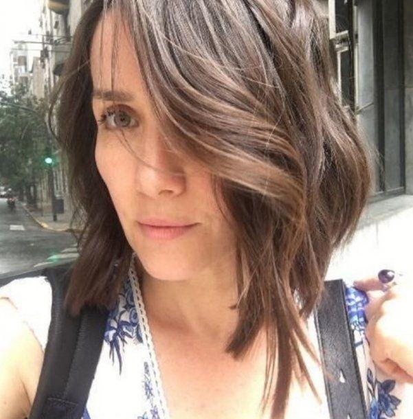 Natalia Oreiro y su cambio de look