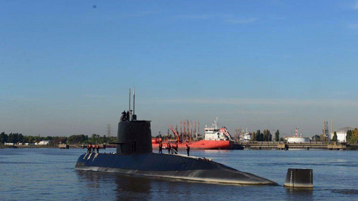 Submarino ARA San Juan. (Gaceta Marina).