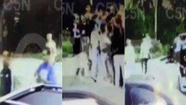Así fue el momento en el que acuchillaron a los dos jóvenes en La Plata