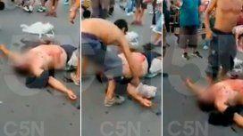 Insólita muerte en el Mercado Central: lo apuñalaron por robar un cliente