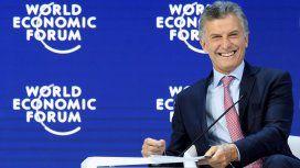 Mauricio Macri en el Foro Económico Mundial de Davos