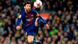 De la mano de Messi, Barcelona marcó el gol 4.000 en el Camp Nou