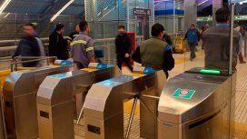 Otra jornada de protesta de los metrodelegados: liberan molinetes en la línea H