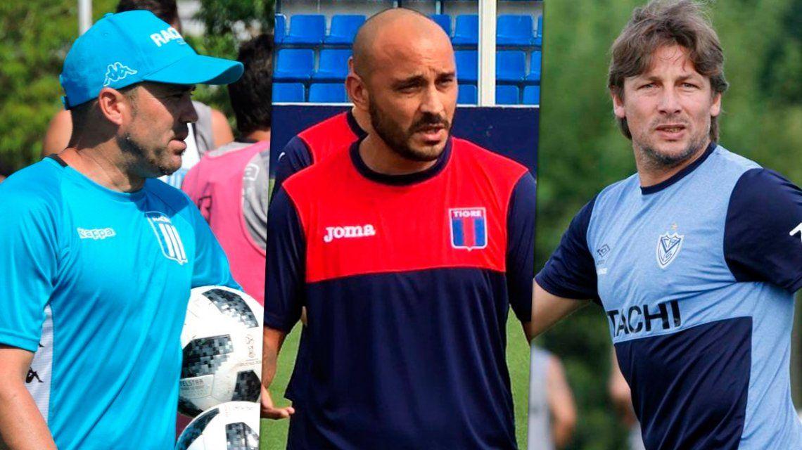 Los ocho entrenadores que arrancarán de cero en el regreso de la Superliga