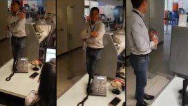 VIDEO: Captan a una nena fantasma corriendo dentro de un banco