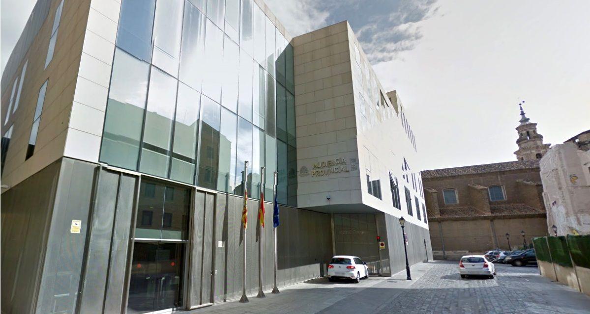 La sentencia fue dictada por la Audiencia Provincial de Zaragoza