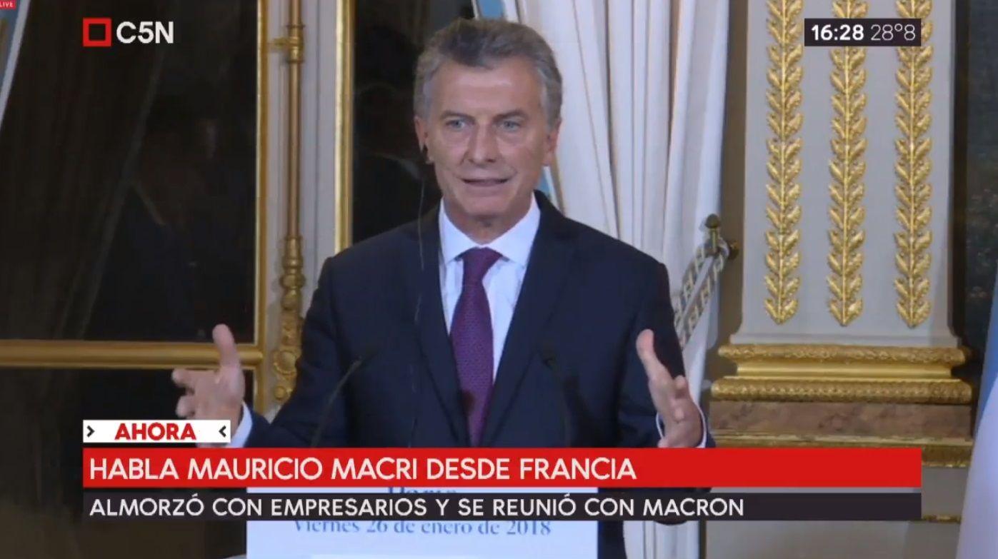 Macri no logró el compromiso de Macron para acercar posiciones entre el Mercosur y la UE