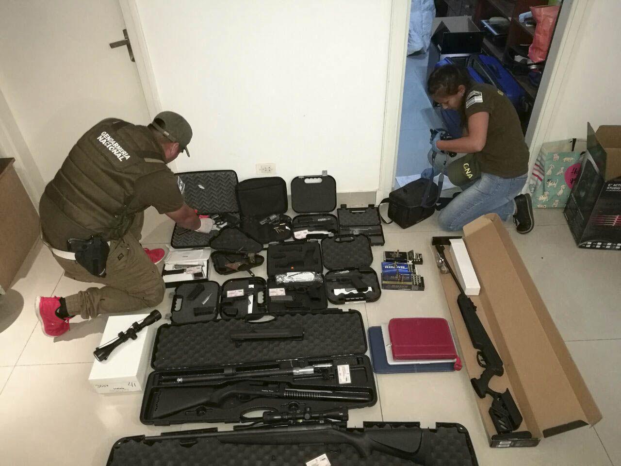Detuvieron a una banda narco tras operativos en el Olivos Golf Club
