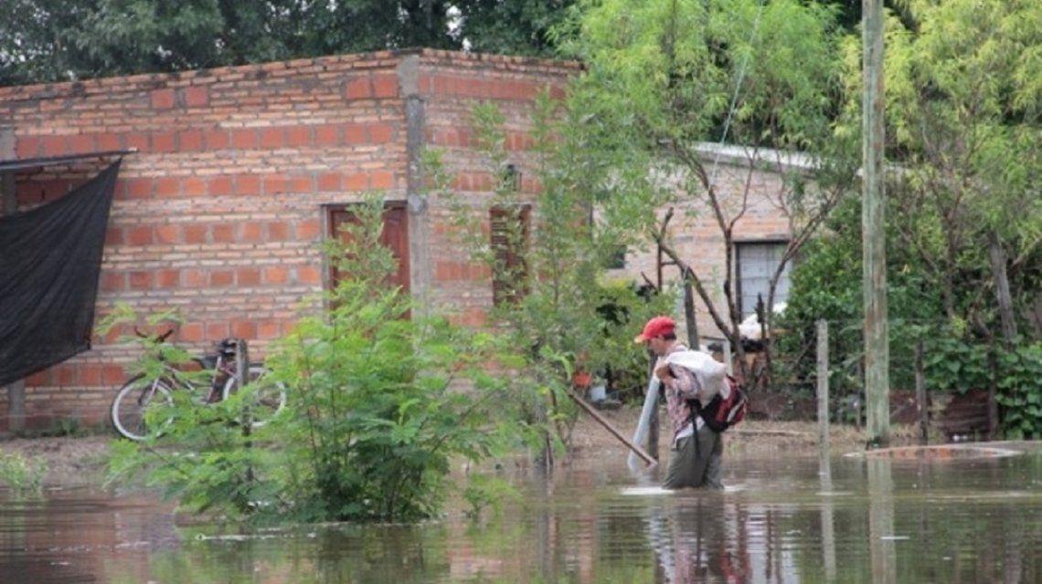 Inundación en Corrientes - Crédito:corrienteshoy.com