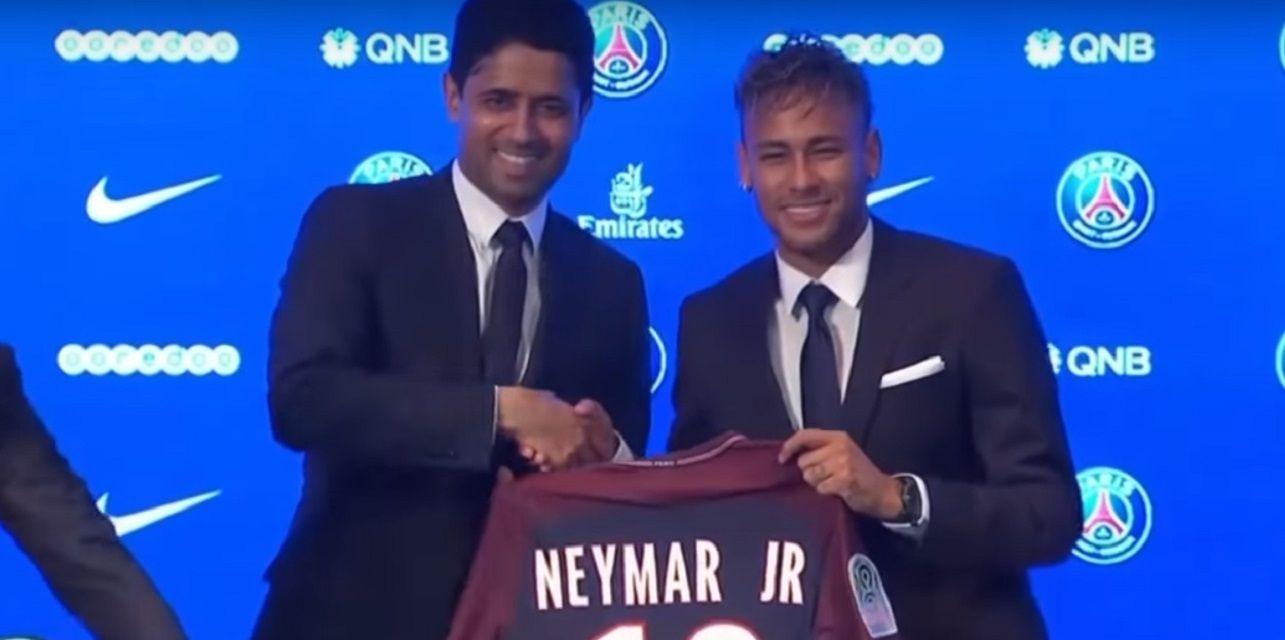 La condición que le puso el presidente del Paris Saint Germain a Neymar para dejarlo ir