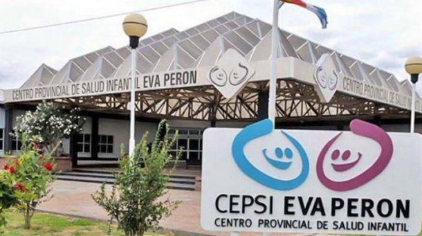 El nene se encuentra internado en el Centro Provincial de Salud Infantil Eva Perón.