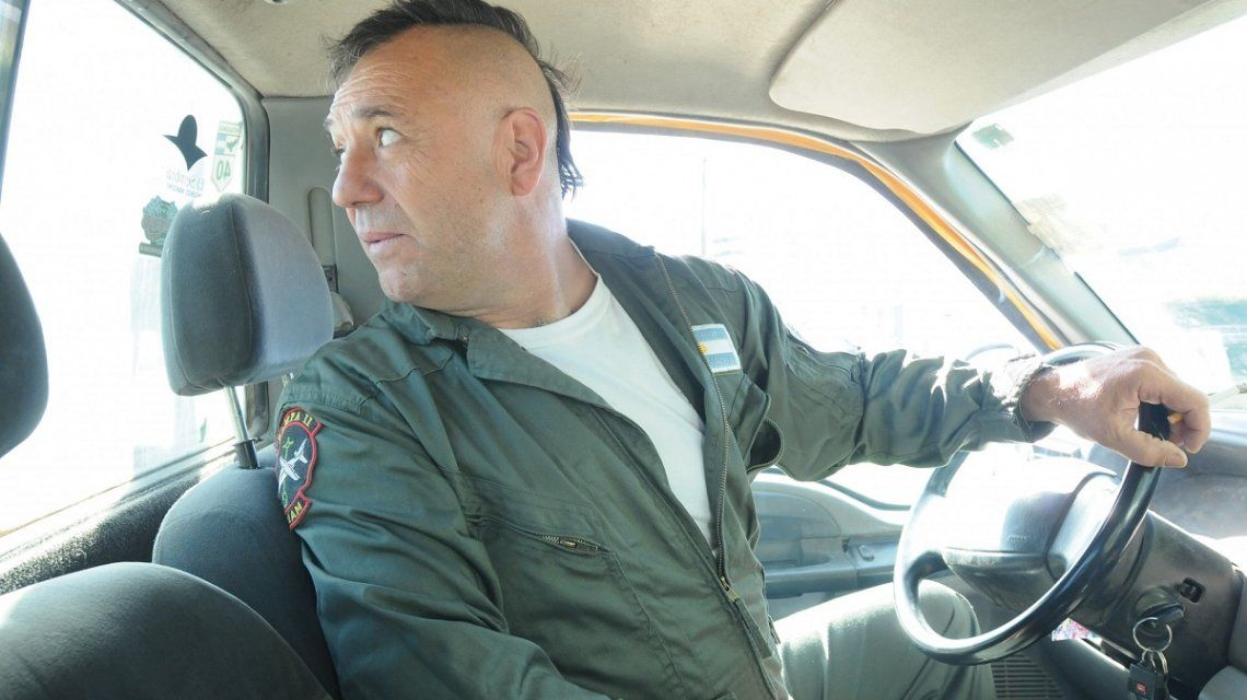 Iorio pasó la noche internado tras ser detenido en Sierra de la Ventana