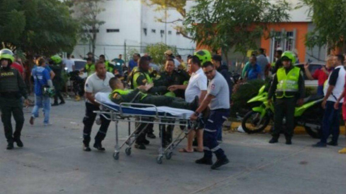 Cuatro personas murieron en el atentado en una comisaría de Barranquilla