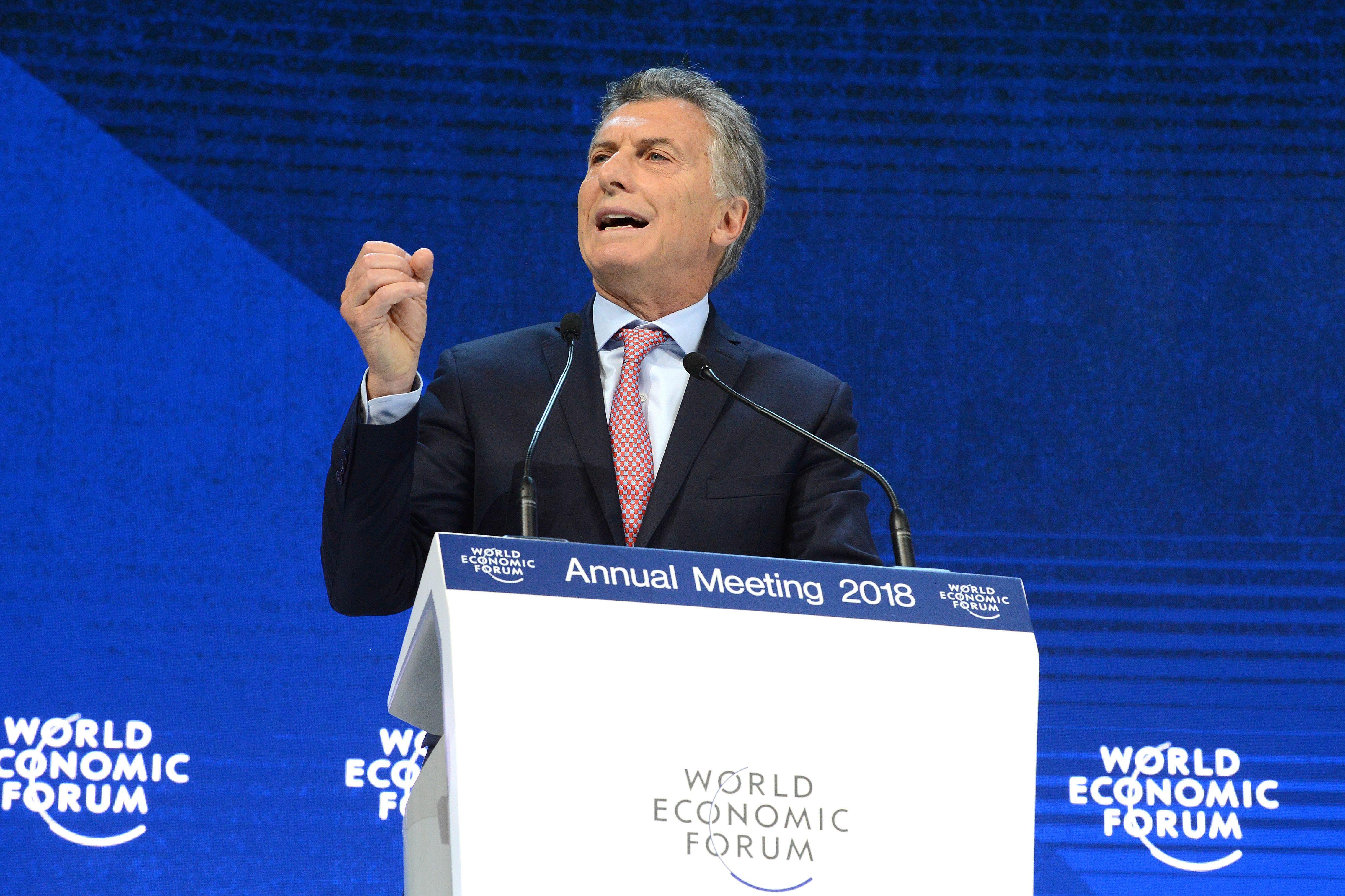 Macri sigue de gira por Francia tras participar en el foro de Davos