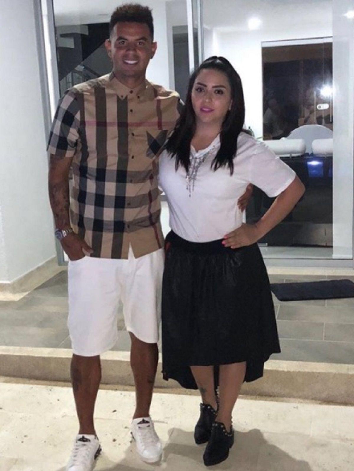 Edwin Cardona y su esposa - Crédito: Instagram e.cardona10