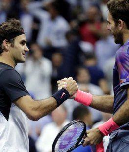 Confirmado: Federer y Del Potro jugarán una exhibición en el Parque Roca
