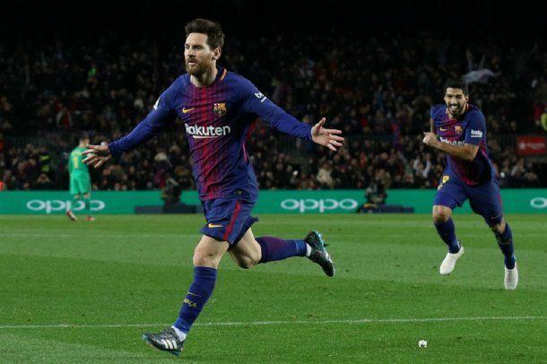 <p>Messi festeja</p>