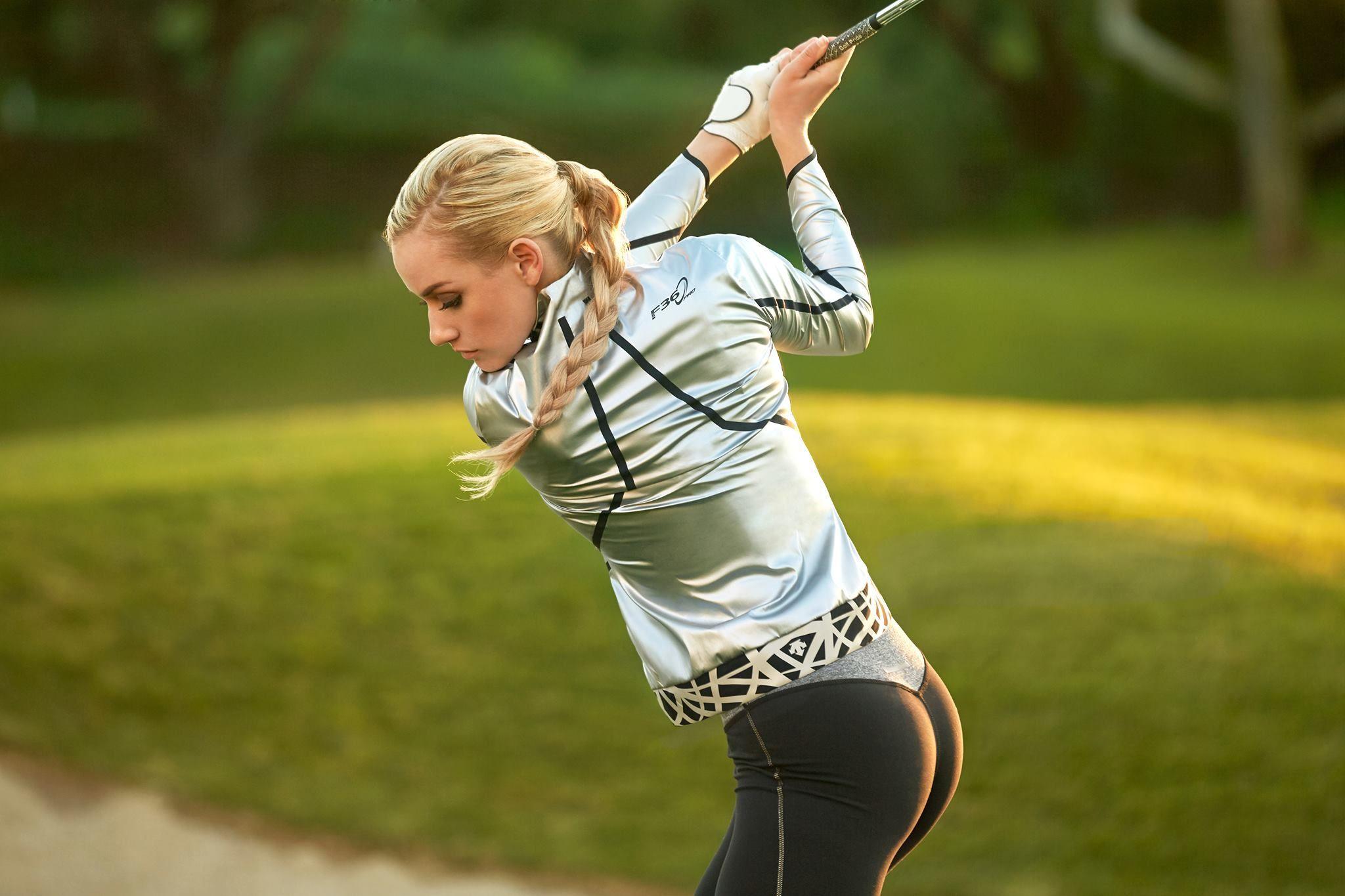 Golfista Paige Spiranac - Crédito: _paige.renee