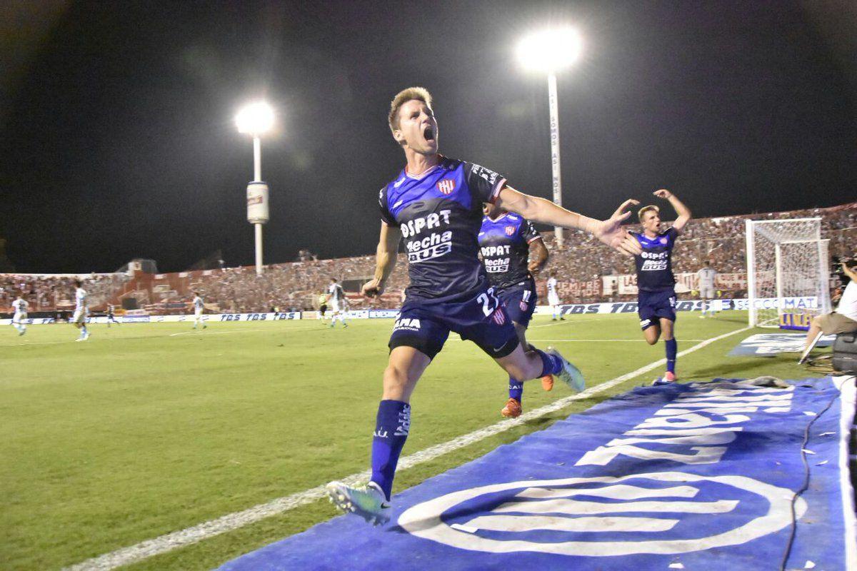 Franco Soldano marcaba el empate parcial