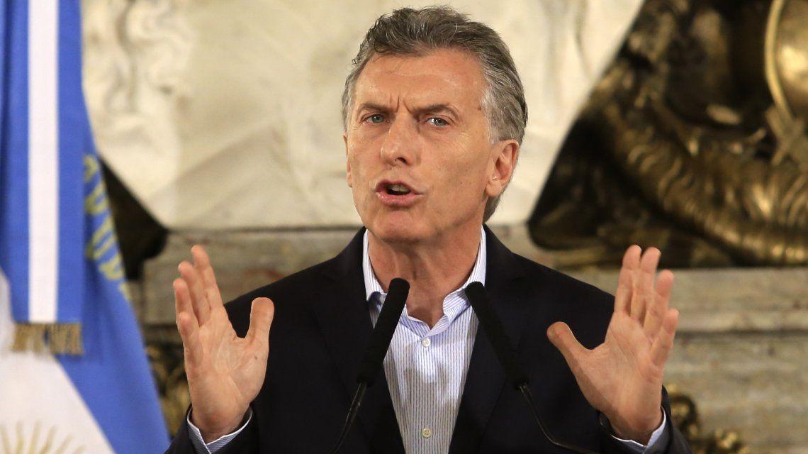Mauricio Macri en Casa Rosada