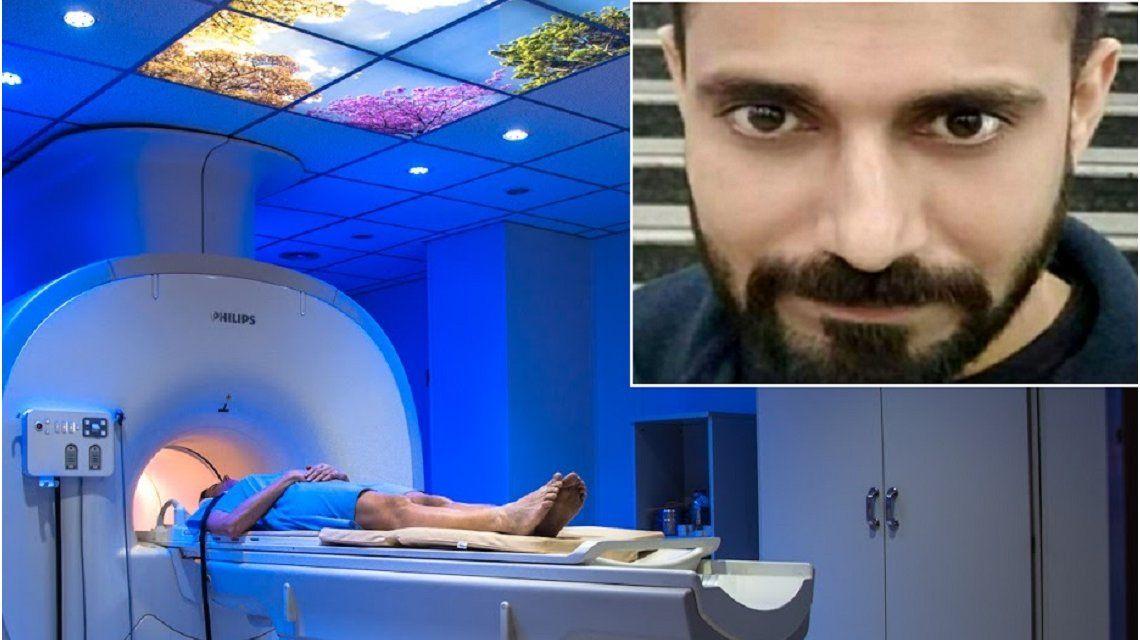 Murió tras ser succionado por una máquina de resonancia magnética
