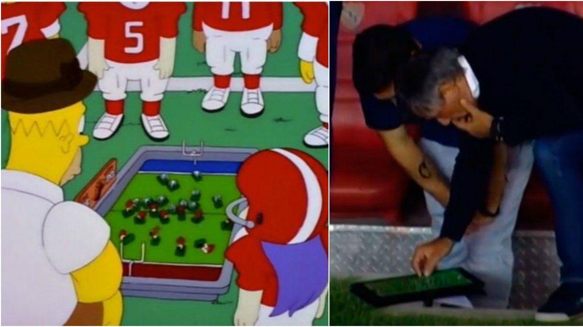 Los Simpson predijeron a Holan